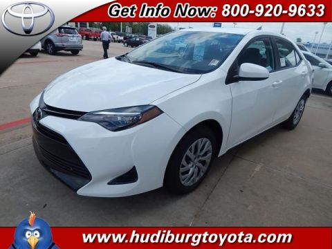 New 2017 Toyota Corolla LE 4D Sedan